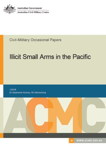 Civil-Military – Illicit Small Arms in the Pacific