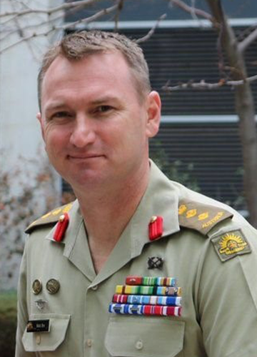 Military Advisor Colonel Mick Bye