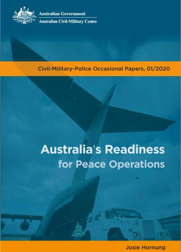 Australia's Readiness for Peace Operations